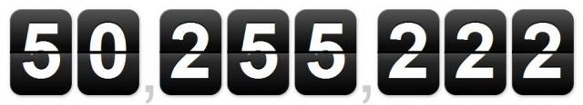 50 mio. blog paa wordpress.com