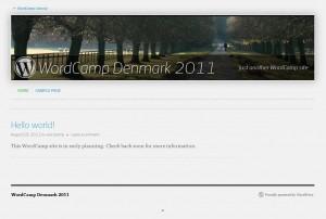 WordCamp Denmark 2011